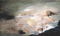 Картины ню, эротика в шедеврах живописи - После бала - маскарада