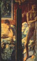 Картины ню, эротика в шедеврах живописи - Мужчина и женщина, 1900.