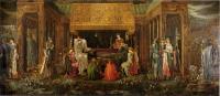 Edward Coley Burne-Jones - Последний сон короля Артура в Авалоне