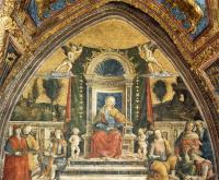 Фрески, монументальная живопись, роспись стен - Музыка