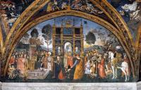 Фрески, монументальная живопись, роспись стен - Дисциплинация Святой Екатерины