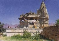 Архитектура - Браминский храм в Адельнуре