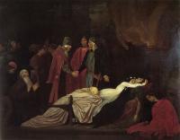 Лейтон Фредерик - Воссоединение семейств Монтекки и Капулетти над мёртвыми телами Ромео и Джульты