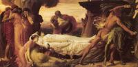 Leighton, Frederick - Геркулес, борящийся со смертью за тело Алкеста