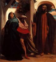Leighton, Frederick - Иезавель и Ахав