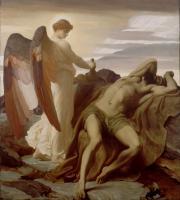 Leighton, Frederick - Илия ( Пророк Илья) в пустыне