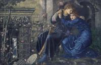 Edward Coley Burne-Jones - Любовь среди руин