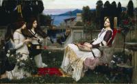 John William Waterhouse - Святая Сесилия