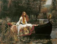 John William Waterhouse - Леди Шарлотт