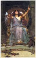 John William Waterhouse - Церцея предлагает чашу Одисею