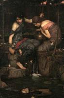 Античная мифология - Нимфы находят голову Орфея