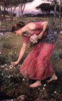 John William Waterhouse - Нарциссы