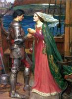 Литературные персонажи - Тристан и Изольда