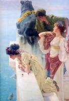 Lourens Alma Tadema - Выгодная позиция
