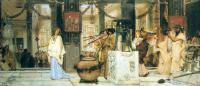 Lourens Alma Tadema (Альма-Тадема) - Праздник посвященный сбору урожая