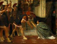 Исторические сюжеты в живописи - Вызванный Клавдий