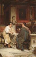 Lourens Alma Tadema - Беседа