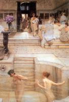 Lourens Alma Tadema - Любимый отдых
