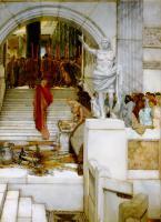 Lourens Alma Tadema - После аудиенции