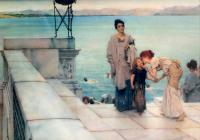 Море в живописи ( морские пейзажи, seascapes ) - Поцелуй