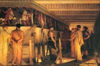 Исторические сюжеты в живописи - Фидий показывает фриз Парфенона своим друзьям