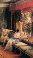 Lourens Alma Tadema - Тщетное Ухаживание