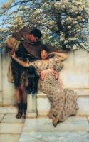 Lourens Alma Tadema - Обещание весны