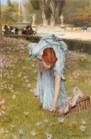 Lourens Alma Tadema - Флора