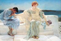 Романтические сюжеты в живописи - Не спрашивай меня больше