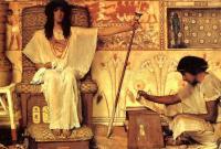 Lourens Alma Tadema - Иосиф - надзиратель зернохранилищ фараона