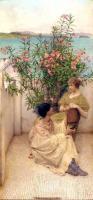 Романтические сюжеты в живописи - Ухаживание