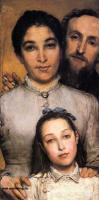 Портреты - Эме Жюль Далю, его жена и дочь