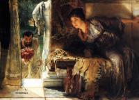 Романтические сюжеты в живописи - Долгожданные шаги