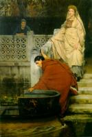 Lourens Alma Tadema (Альма-Тадема) - Посадка в лодку