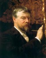 Lourens Alma Tadema (Альма-Тадема) - Лоуренс Альма-Тадема галерея картин ( на фото: Автопортрет)