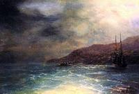 Море в живописи ( морские пейзажи, seascapes ) - Ночной рейс