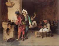 Арабский восток - Кафе в Каире