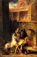 Античная мифология - Диомед, пожираемый своими конями