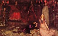 Литературные персонажи - Гамлет играет сцену