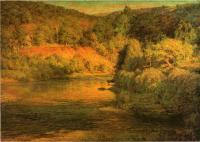 Пейзаж ( пейзажная живопись ) - Закат