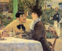 Edouard Manet - у папаши Латюиля