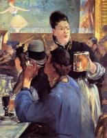 Edouard Manet (Эдуард Мане) - В уголке кафе во время концерта