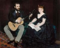 Edouard Manet - Урок музыки