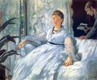 Edouard Manet - Чтение
