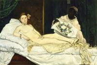 Edouard Manet (Эдуард Мане) - Олимпия