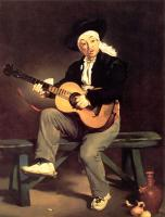 Edouard Manet - Гитарист