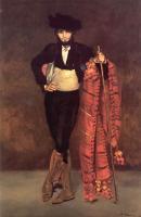 Edouard Manet - юноша в костюме мачо