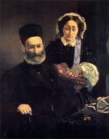 Edouard Manet (Эдуард Мане) - Месье и мадам Мане