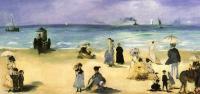 Edouard Manet (Эдуард Мане) - На пляже в Болоньи