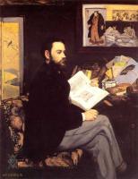 Edouard Manet (Эдуард Мане) - Портрет Эмиля Золя :: Эдуард Мане